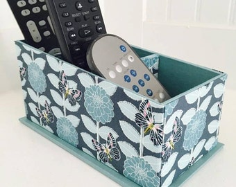 Remote Control Holder, Remote Control Organizer, Remote Control Caddy, Home Decor, Organizer