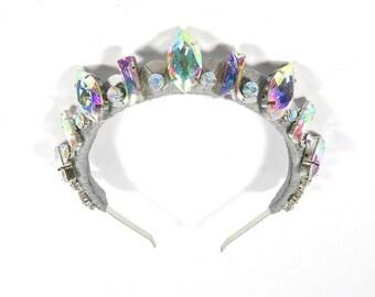 Rainbow Disco Crown - by Loschy Designs