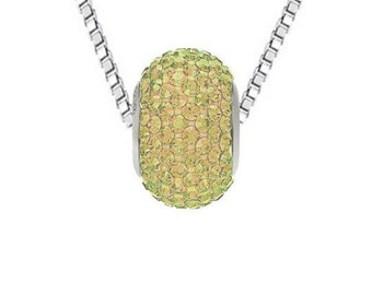 Wholesale Becharmed Necklace N1080101 Luminous Green (LUMG)