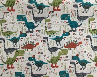 Dinosaurs Weighted Blanket. Pick your Size, Weight, and Color! 2, 3, 4, 5, 6, 7, 8, 9, 10, 11, 12, 13, 14, or 15 pounds..Ships FREE!!
