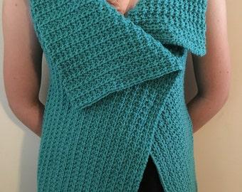 Crochet Vest/Vest/Jacket/Boho