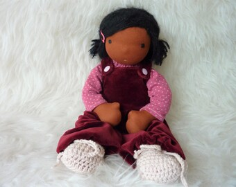 "Avril 12"" Waldorf inspired Doll organic"
