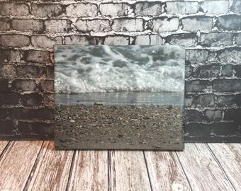 beach sand photo - beach art - beach house decor - beach lovers gift - Crystal Coast - coastal photography - nautical art - Emerald Isle