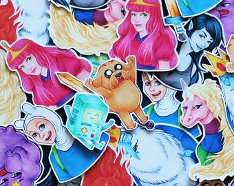 Finn and Jake - Adventure Time Sticker Pack - Small
