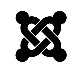Joomla Logo  (Free Same day Shipping)