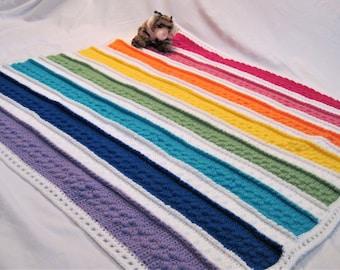 Rainbow Dreams Blanket