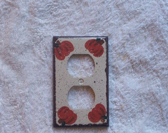 Pumpkin outlet switch cover FREE SHIPPING