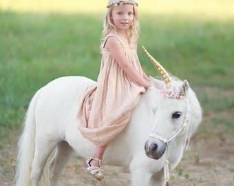 Unicorn- unicorn horn- unicorn flower crown