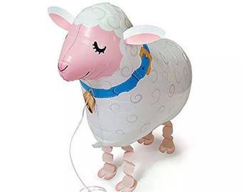 Walking animal lamb sheep eid al-adha Muslim decoration