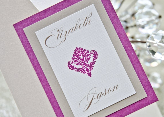 Disney wedding invitation hidden Mickey Disney world