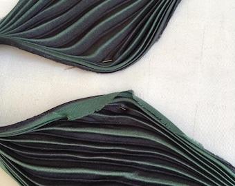 Shibori ribbon - sage. 20cm. (colour 48)