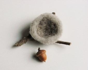 Small Felted Nature Nest