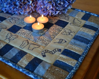 Candle mat mini quilt Pattern