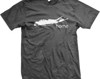 Long Island is Home! Long Island Represent. Strong Island. LI. Long Island Pride Inexpensive, Trendy & Funny Men's Tshirts_GH_02201_tee