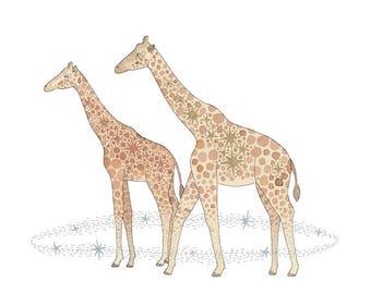 Sidekicks - Giraffe Print