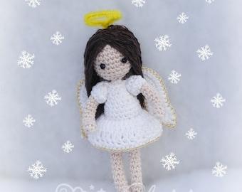 Amigurumi Angel , Crochet Angel PDF pattern