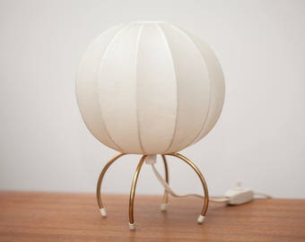 Vintage Cocoon Table Lamp 60s 70s space age mid century table lamp 60s 70s