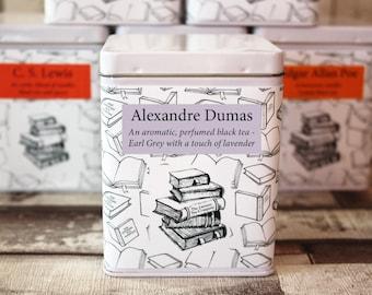 Alexandre Dumas Inspired Tea - Literary Tea Collection - Tea Gift - Literary Tea Gift - Bookish Gift - Author Gift- Loose Leaf Tea - Tea