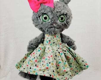 OOAK - Rabbit Plush - Stuffed Bunny - Ready to Ship!