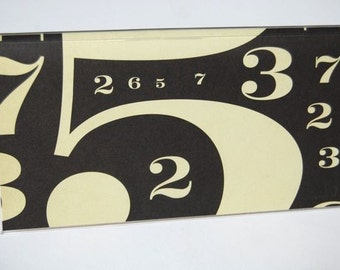 CHECKBOOK COVER - Dreaming In Numbers