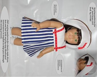 Doll Clothes PDF Pattern for 18'' American Girl by NVME AG-3