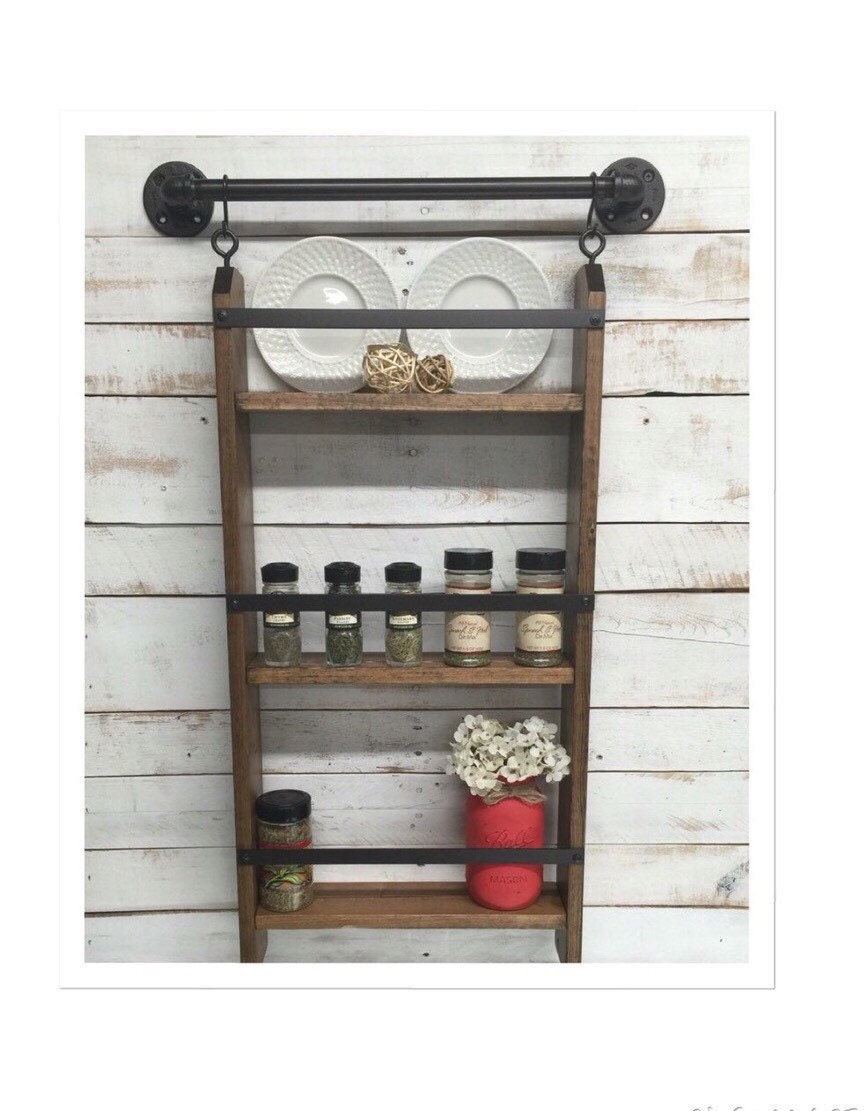 Wooden Kitchen Wall Shelves Images