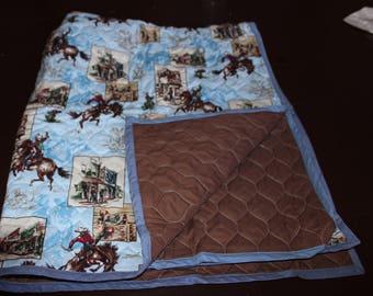 Cowboy Quilt/Blanket