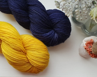 PRE ORDER Castley Rock /  hand dyed 4ply yarn