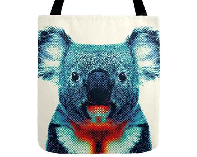 Koala Tote Bag - Colorful Animals
