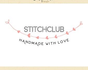 Premade Logo & Watermark // Stichclub // Handmade Business // Solipandi Design Studio // #012