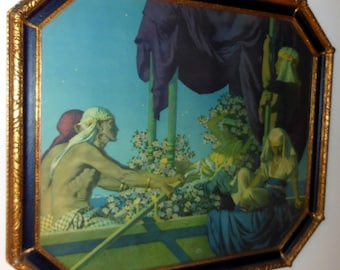 Maxfield Parrish Original large 1917 Cleopatra Art Print
