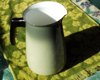 Porcelain Enamelware Ombre Vintage Coffee Pot/Pitcher