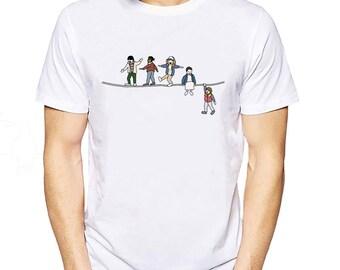 Stranger Things Eleven Monster T-Shirt - Show Shirt - Mike Wheeler Dustin Henderson Lucas Sinclair Will Byers Clothing - Jane Hopper Shirts