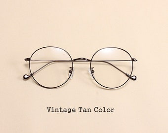 Vintage Glasses Frame, Spectacle Frame, Optical Frame, 7 Colors, Alloy Frame, Men's Gift, Father's Day Gift, Women Glasses, Eyeglasses