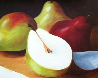 BEAUTIFUL Pears still life