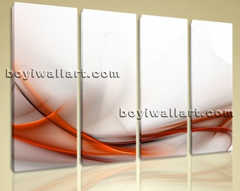 "Huge Modern Abstract Wall Art On Canvas Artistic Artwork Giclee Print Home Decor, Abstract canvas art,  print, 51""x36"""