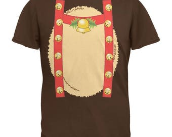 Reindeer With Bells Costume Youth T-Shirt