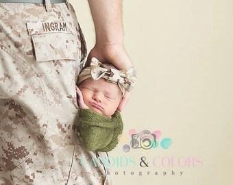 Baby Camo Headband Etsy