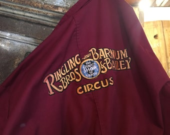 Barnum & Bailey Ringling Brothers Circus Coverall Jumpsuit
