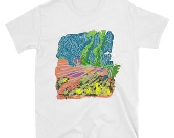 Cactus Landscape: Hand Drawn Tee, Landscape T-Shirt, Cactus T-Shirt, Vintage T-Shirt, Retro T-Shirt, Hipster T-Shirt, Indie T-Shirt