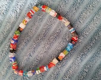 Bright Millefiori Bracelet