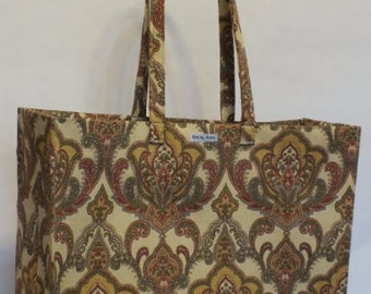 Limited Edition Market Line Bag in print India