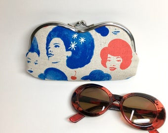 Kisslock Eyewear Case - Dottie's Friends