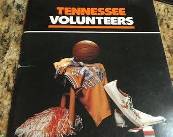 1978-79  University of Tennessee Volunteers Basketball program bracket march madness
