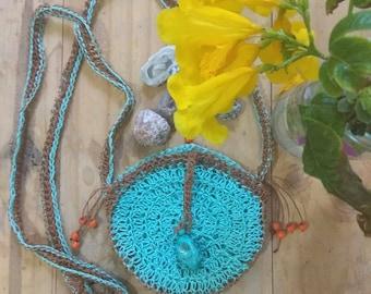 Crochet Medicine Bag