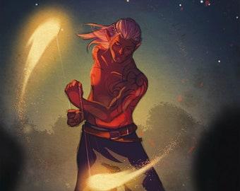 Zevran - Firedancing