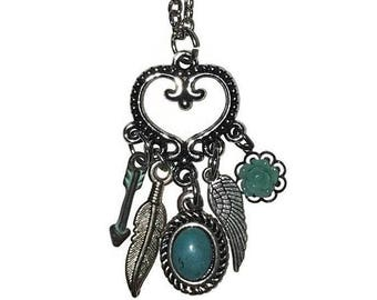 Southern Charm Turquoise Drop Necklace