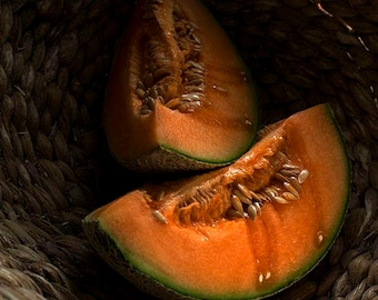 Chiaroscoro Photography, Still Life Photography, Food Photography, Orange, Cantaloupe, Kitchen Photos