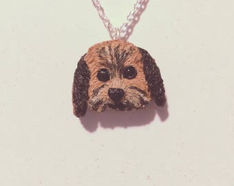 CUSTOM DOG pet necklace! dogs, cats, pets
