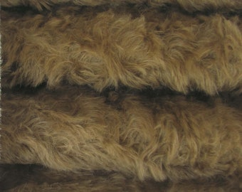 Quality 785S/C - Mohair - 1/4 yard (Fat) in Intercal's Color 647S-Cocoa. A German Mohair Fur Fabric for Teddy Bear Making, Arts & Crafts